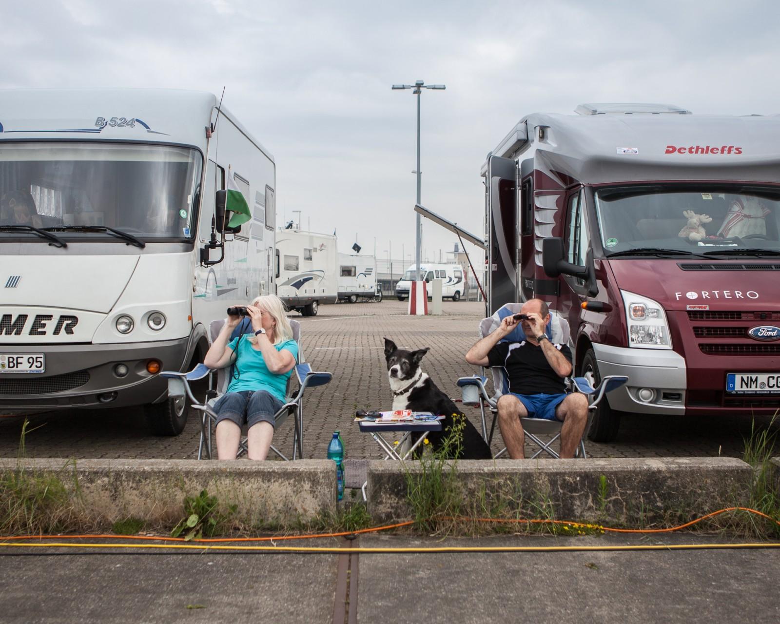Camping in Cuxhaven - Urlaub auf Beton