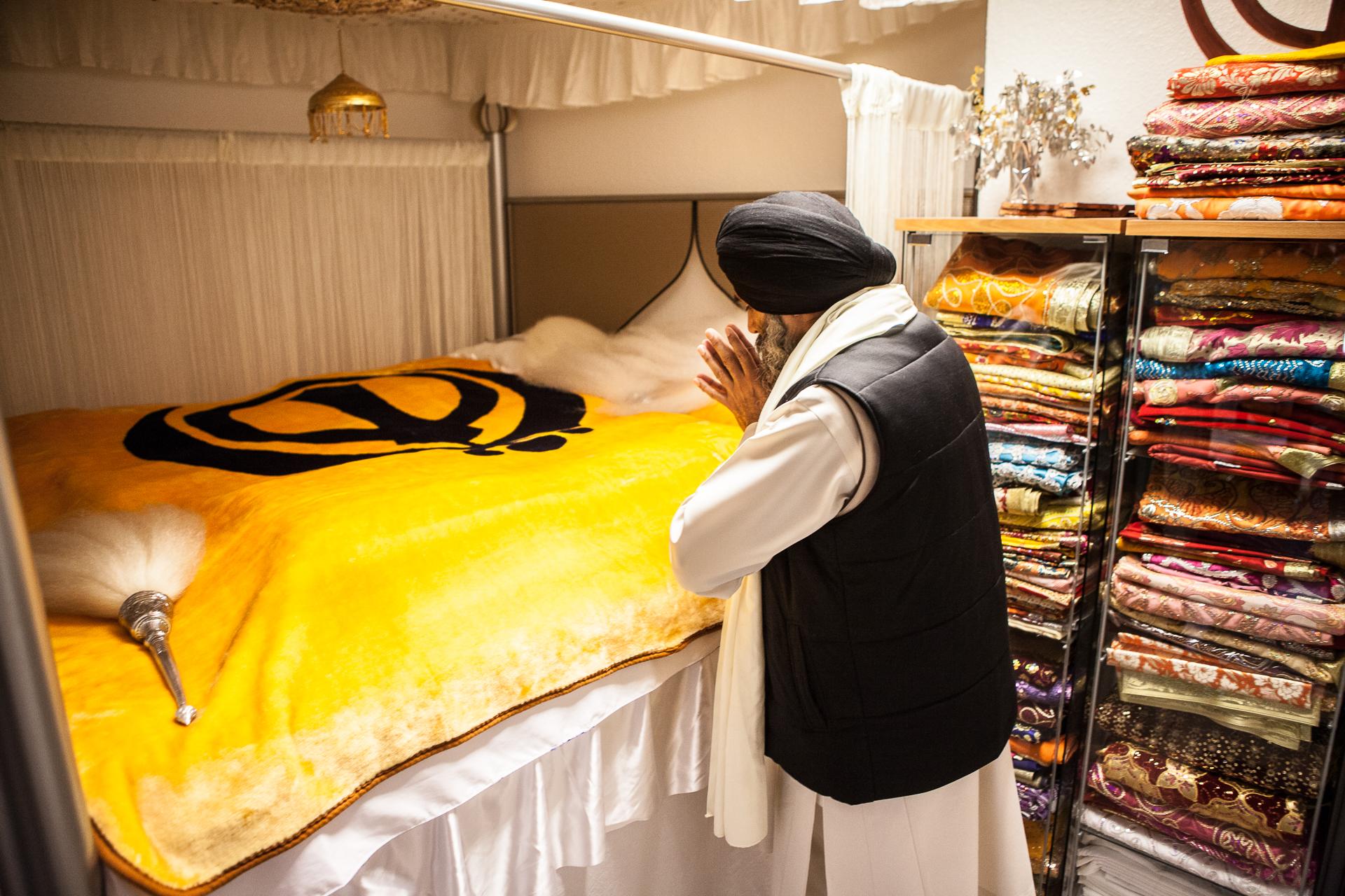 Fotoreportage Sikh-Tempel Bremen