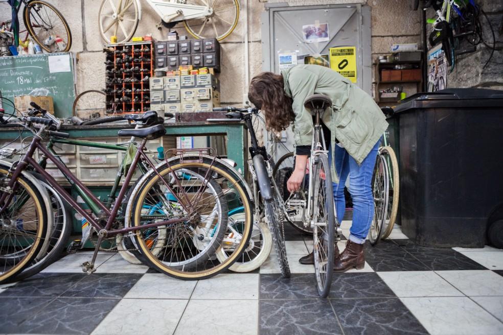 Ein kleiner Exkurs in die Welt der Zweiräder. Le Recycleur – Vie Vélo