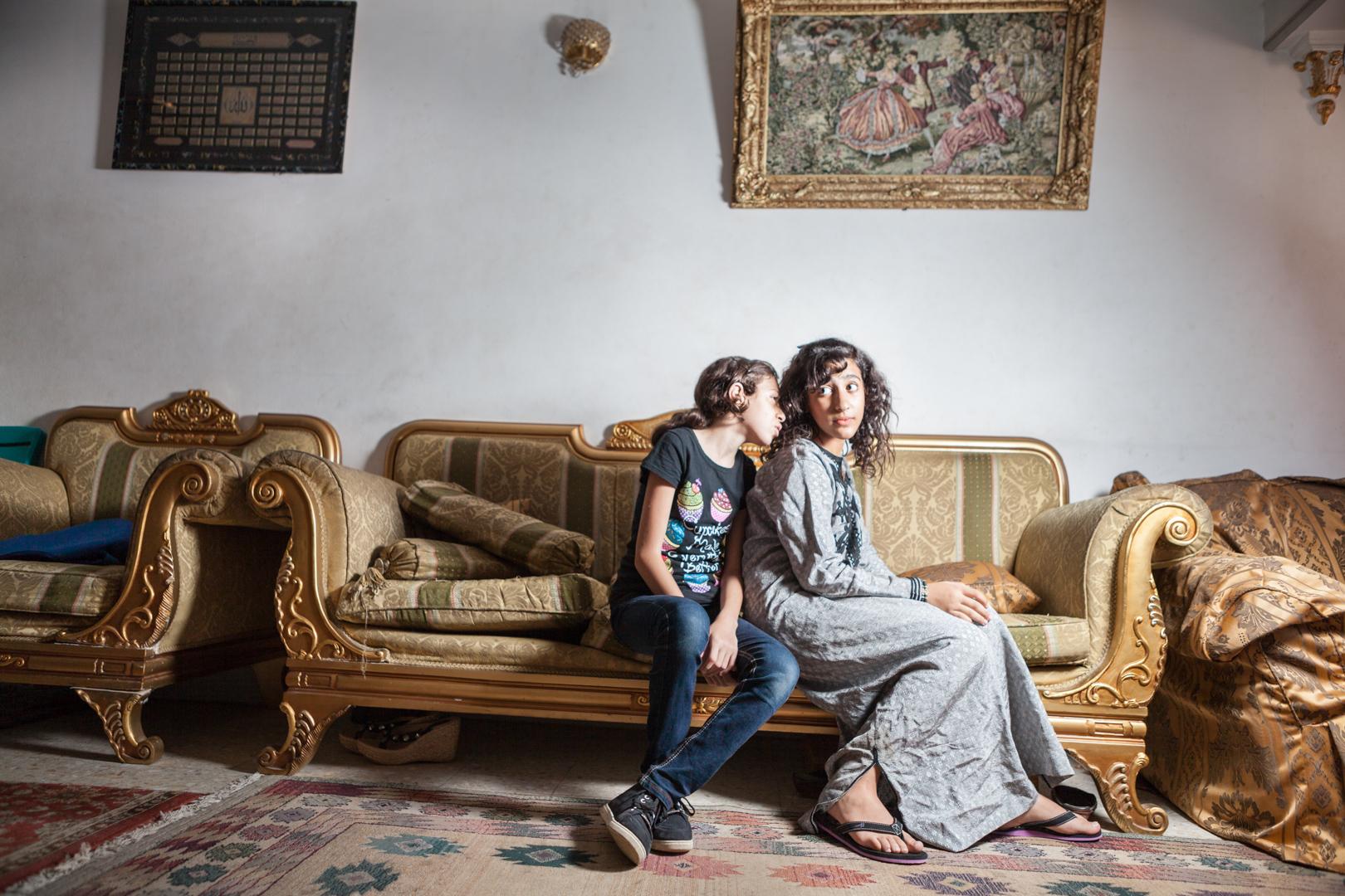 Beste Freundinnen in Kairo, Ägypten