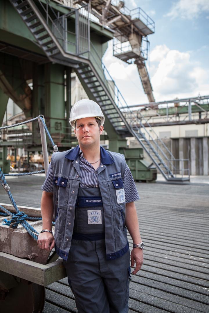 Michael Kaffenberger, Hafenarbeiter aus Brake (Unterweser)