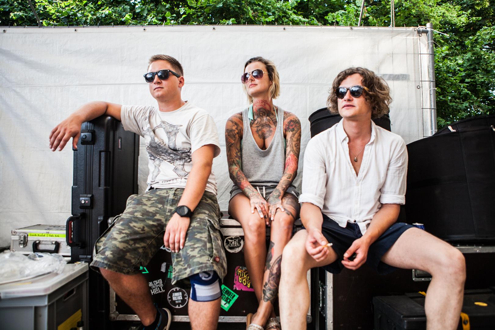 Jennifer Rostock, Rock-Band