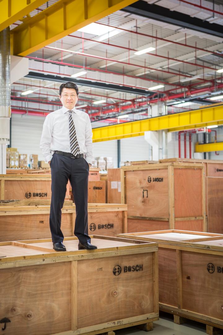 Chef von Bosch Packaging Technology China