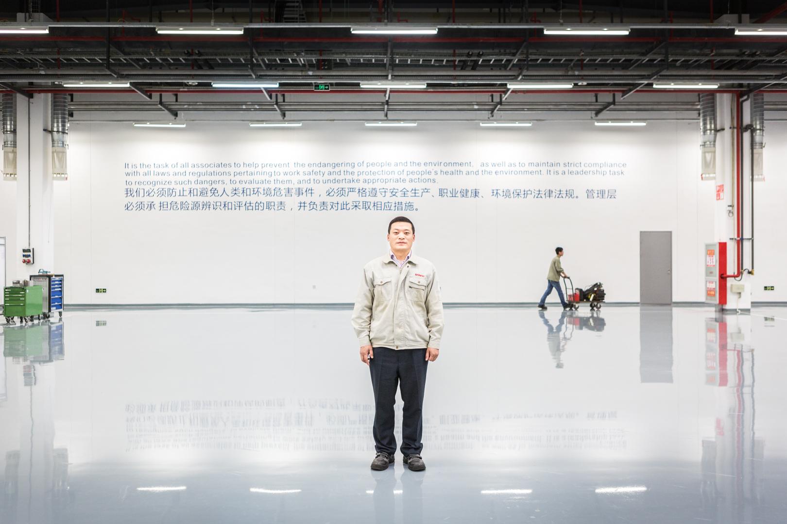 Produktionschef eines Werkes von Bosch in Chengdu, China