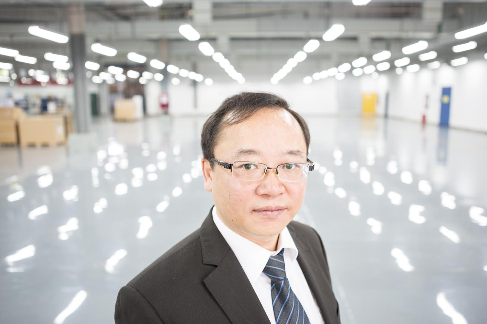 Chef eines Werkes von Bosch in Chengdu, China